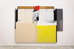 La danza,1980. Acrílico - madera entelada y paneles. 222x277 cm